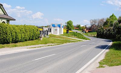 Poľad zo smeru: Trnava, Hlohovec, Sereď, Senec, Bratislava, ...(juh)